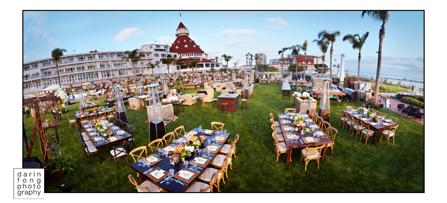 DEL Panorama1aCC Hotel Del Coronado   Corporate Event   Sneak Preview ©2011 Darin Fong Photography